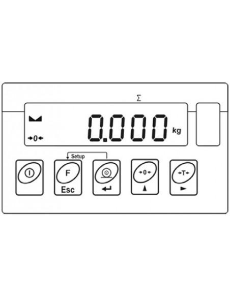 Balanza de cama para uso medico TYP-WPTB 500