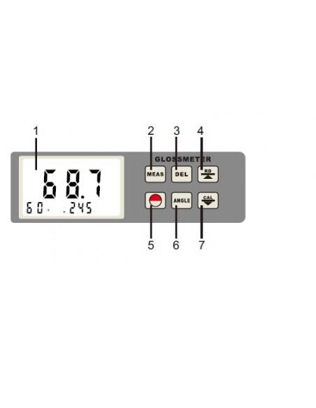 Medidor de Brillo TYP-GM 26N