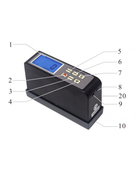 Medidor de Brillo TYP-GM 4