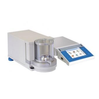 Ultramicrobalanza TYP-UYA 2 para laboratorios, con calibración interna y resolución máxima 0.1µg