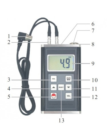 Medidor de espesor TYP-TM 60